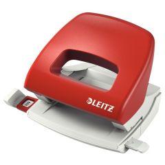 Perforator plastic LEITZ 5038 NeXXT Series, 16 coli - rosu