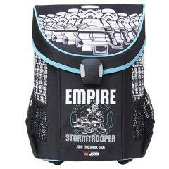 Ghiozdan scoala Easy LEGO Core Line - design Star Wars Stormtrooper