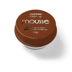Spuma machiaj, 14gr., ALPINO Make-Up Mousse - maro
