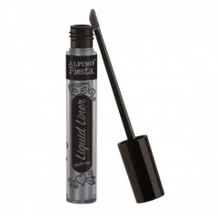 Tub machiaj, 6gr., ALPINO Make-Up Liquid Liner - argintiu