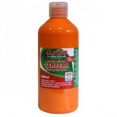 Tempera lavabila, 500ml, Alpino - portocalie