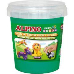 Plastilina magica, 160 grame/cutie, ALPINO - verde