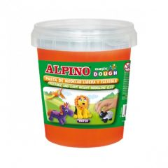 Plastilina magica, 160 grame/cutie, ALPINO - orange