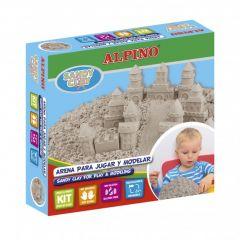 Kit nisip cleios 600gr. + set accesorii, ALPINO Sand Castels