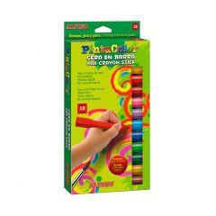 Creioane cerate 12 culori/cutie, ALPINO PintaColor