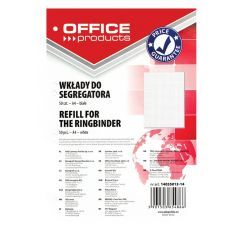 Rezerva A4 pentru caiet mecanic, 50 file/top, Office Products - matematica