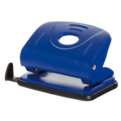 Perforator metalic, 25 coli, Office Products - albastru