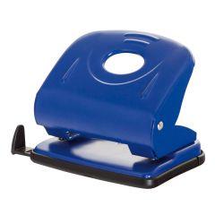 Perforator metalic, 30 coli, Office Products - albastru