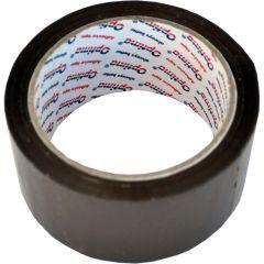 Banda adeziva 72mm x  66 y, 38 microni, Optima - maro