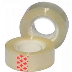 Banda adeziva 12mm x 33 m, 40 microni, 12 buc/set, Optima - transparent