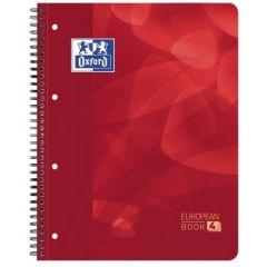 Caiet cu spirala A4+, OXFORD School Projectbook, 4cul x30 file-90g/mp, Scribzee, coperta PP-mate