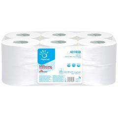 Hartie igienica mini jumbo Papernet, 170m, 2 str, 12 buc/set