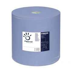 Rola prosop albastra industriala, 3 straturi, 360m, Papernet