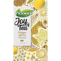 Ceai PICKWICK JOY OF TEA - ghimbir, lamaita, anason si lamaie - 15 x 1,75 gr./pachet