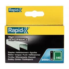 Capse RAPID 140/ 6, 2000 buc/cutie - pentru pistol de capsat RAPID