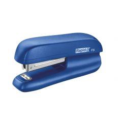 Mini-capsator plastic RAPID F5, 10 coli - albastru