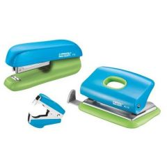Set RAPID capsator F5, 10 coli, perforator FC 10, 10 coli si decapsator, blister - albastru/verde