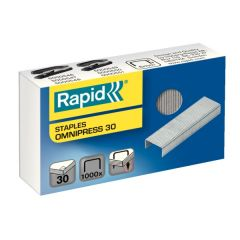 Capse RAPID Omnipress 30 coli, 1.000 buc./cutie