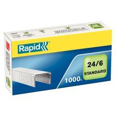 Capse RAPID Standard 24/6, 1000 buc/cutie
