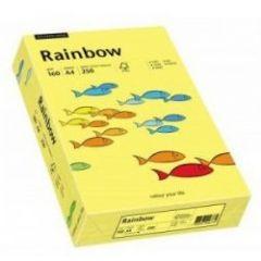 Carton color A4, 160g/mp, 250coli/top RAINBOW - light yellow 88042305