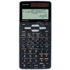 Calculator stiintific, 16 digits, 640 functiuni, 166x80x15 mm, dual power, SHARP EL-W506XSL-negru