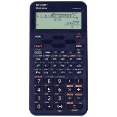 Calculator stiintific, 16 digits, 422 functiuni, 157x78x15 mm, SHARP EL-W531TL - albastru