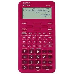 Calculator stiintific, 16 digits, 422 functiuni, 157x78x15 mm, SHARP EL-W531TL - rosu