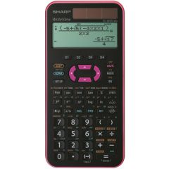 Calculator stiintific, 16 digits, 335 functiuni, 168x80x14 mm, dual power, SHARP EL-W531XGVL -violet