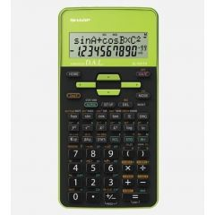 Calculator stiintific, 10 digits, 273 functiuni, 161x80x15mm, dual power, SHARP EL-531THBGR-negru/ve