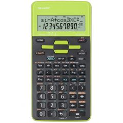 Calculator stiintific, 10 digits, 273 functiuni, 161x80x15mm, dual power, SHARP EL-531THGR-negru/ver