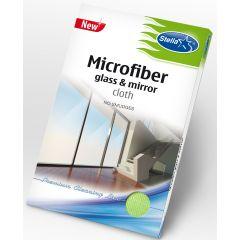 Laveta microfibra pentru geamuri, oglinzi si alte obiecte din sticla, nu lasa urme, Stella Pack