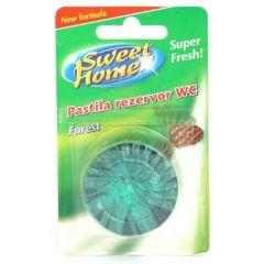 Pastile odorizante, pentru rezervor WC, 50 gr, Sweet Home - Forest