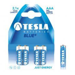 Baterii zinc carbon LR03, AAA, 4 buc/set, Tesla Blue - A1099137003