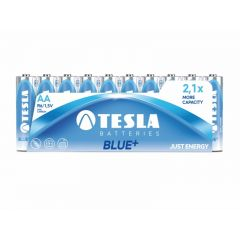 Baterii zinc carbon LR06, AA, 10 buc/folie, Tesla Blue - A1099137101