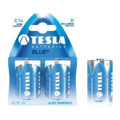 Baterii zinc carbon R20, 2 buc/set, Tesla Blue - A1099137023