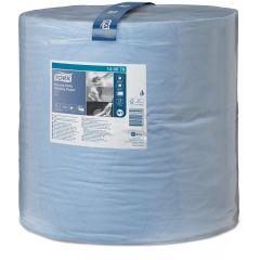 Rola hartie absorbanta industriala TORK Heavy-Duty, 2 straturi, 36.9cm x 340m - albastra