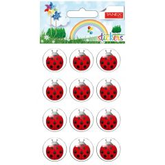 Stickere decorative, 12 buc/fila, 2 file/set, TANEX Kids - gargarite