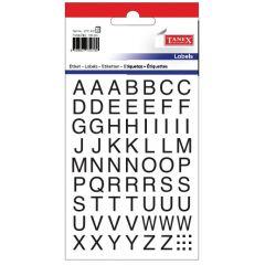 Etichete cu litere, A-Z, 124buc/set, TANEX