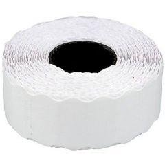 Etichete de pret, 26 x 12 mm, adeziv non-permanent, 1000buc/rola, 6 role/set, TANEX - albe