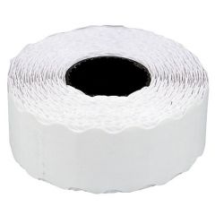 Etichete de pret, 26 x 16 mm, adeziv permanent, 1000buc/rola, 6 role/set, TANEX - albe