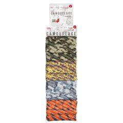 Clip-strip 8 penare cu fermoar, ZIPIT Camo Jumbo - 2 x 4 culori asortate - EAN 7290103198770