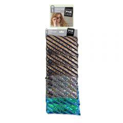 Clip-strip 8 penare cu fermoar, ZIPIT Metallic Jumbo - 3 culori asortate - EAN 7290103193294