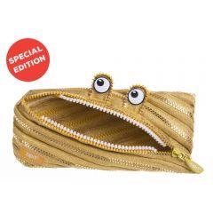 Penar cu fermoar, ZIPIT Monster Special Edition - auriu - EAN 7290106146518