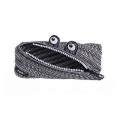 Penar cu fermoar, ZIPIT Monster Special Edition - negru/alb - EAN 7290106146532