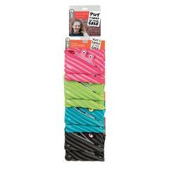 Clip-strip 8 penare cu fermoar, ZIPIT Wildling Jumbo - 2 x 4 culori asortate - EAN 7290106148390
