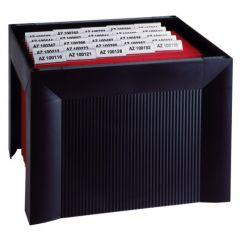 Suport plastic pentru 35 dosare suspendabile, HAN Karat - negru