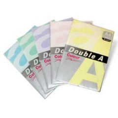 Hartie color pentru copiator  A4,  80g/mp, 100coli/top, Double A - pastel butter