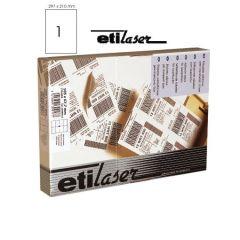 Etichete autoadezive   1/A4, 210 x 297 mm, 200 coli/top, ETILASER - albe