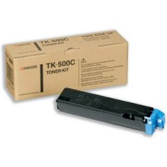 KYOCERA TK500C TONER CYAN FSC5016 8000PG