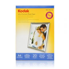 Hartie foto Kodak RC Ultra Premium Glossy 270g A4, 20 coli